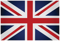 UK Flag with Grommets 12'X18' Rough Tex® 100D