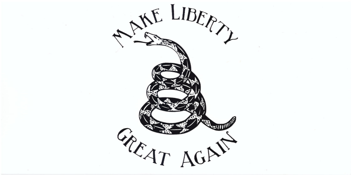 Make Liberty Great Again Bumper Sticker