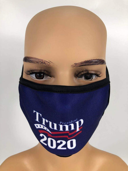 PRESIDENT TRUMP 2020 FACE MASK
