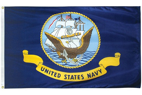 Navy U.S. Military 3'x5' 100D Flag Rough Tex ®