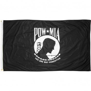 POW MIA U.S. Military 3'x5' 150D Flag Rough Tex ® Expertly Printed
