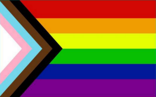 Progressive Pride Rainbow 4'X6' Flag Rough Tex® 150D