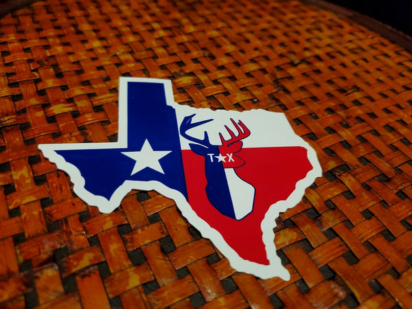 Texas Deer Bumper Sticker