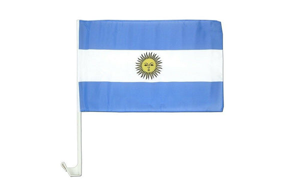 Argentina - 12''x18'' Car Flag Rough Tex® 68D