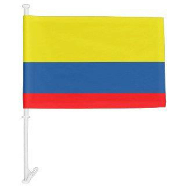 Columbia - 12''x18'' Car Flag Rough Tex® 68D