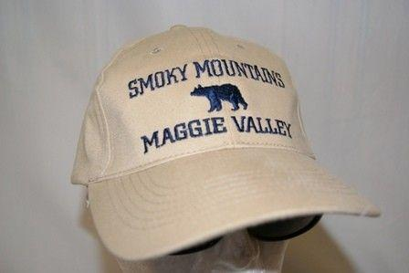 12 SMOKY MOUNTAINS MAGGIE VALLEY BEAR HATS