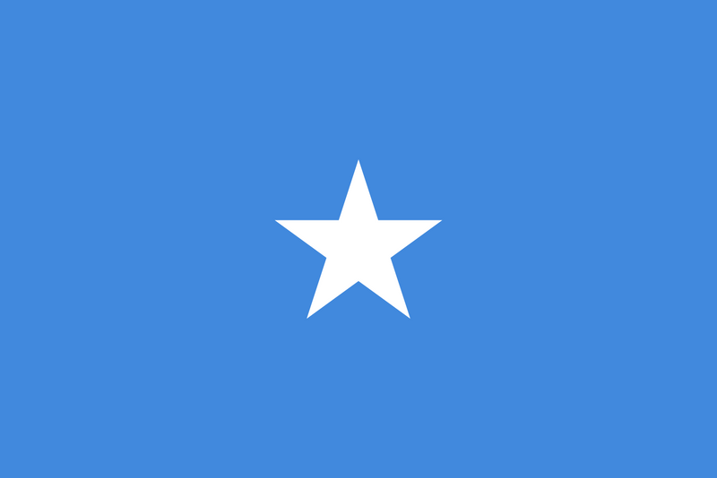 Somalia Flag 3x5ft Poly