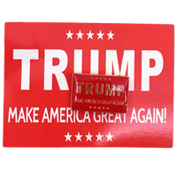 Trump  Make America Great ( M A G A) Red Lapel Pin
