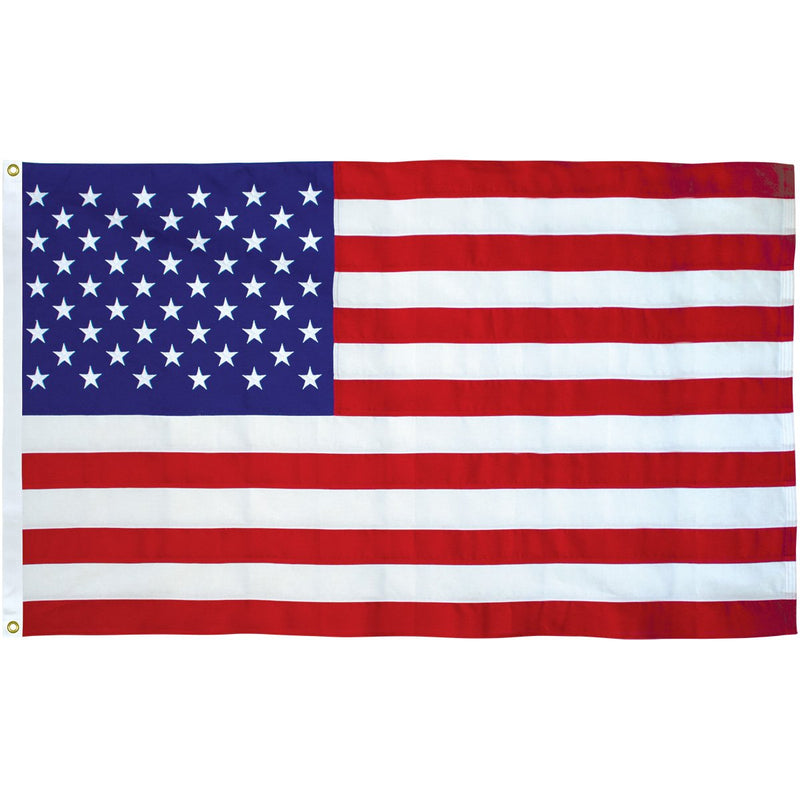 24 USA Flag 3x5ft Poly
