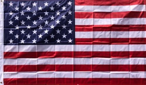 USA 3x5 foot Dura-Lite Poly Printed American Flags