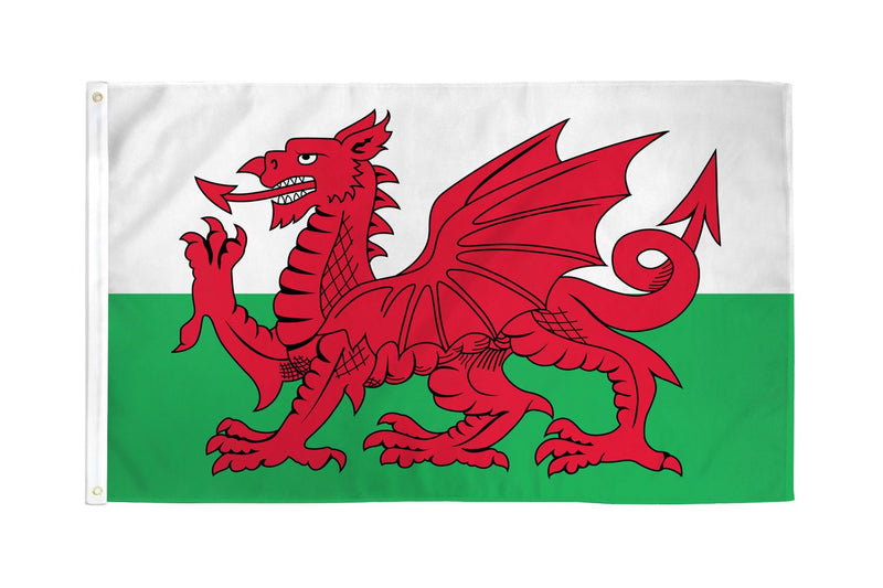Wales Flag 3x5ft Nylon 210D
