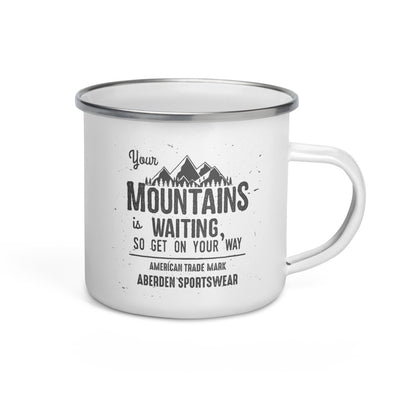 Trekking Mug Mountain is Waiting