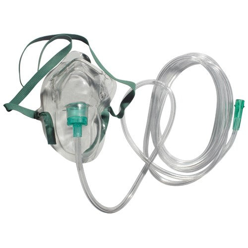 Sunset Simple Oxygen Mask - Adult