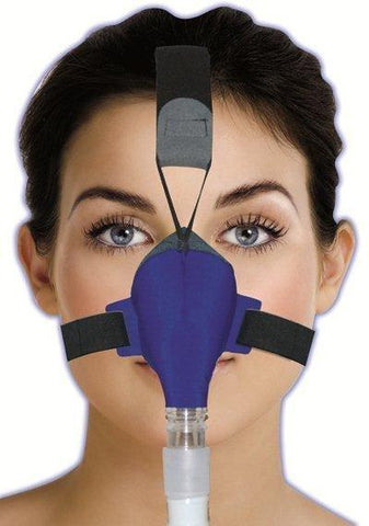 SleepWeaver Advance Soft Cloth Nasal CPAP Mask with Headgear and Seal