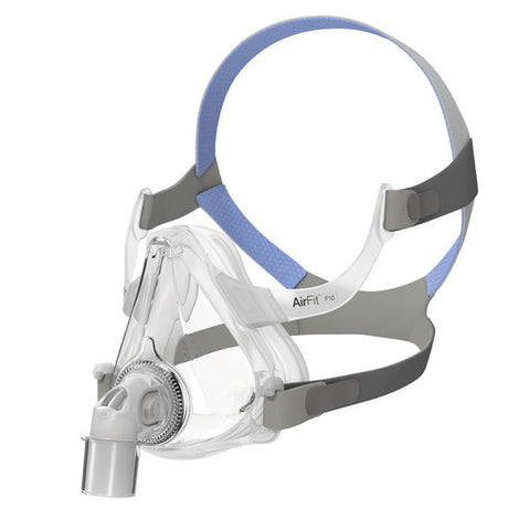 ResMed AirFit™ F10 and AirFit™ F10 for Her Full Face Mask with Headgear