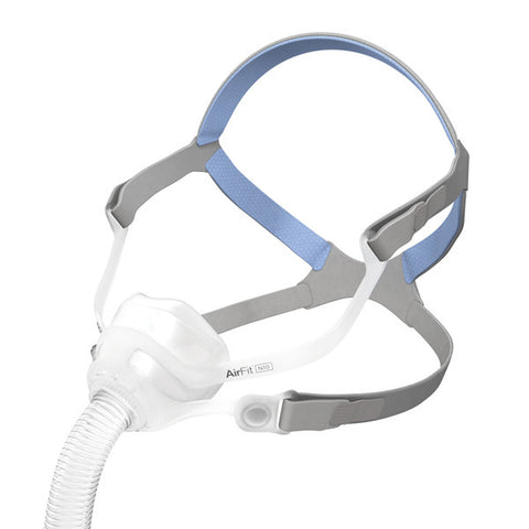 ResMed AirFit™ N10 and AirFit™ N10 for Her Nasal CPAP Mask and Headgear