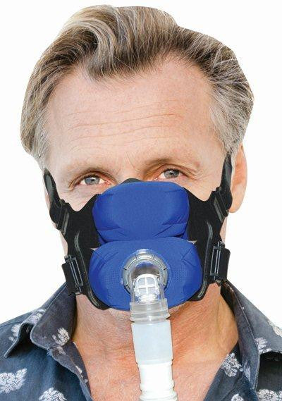 SleepWeaver Anew Soft Cloth Full Face CPAP Mask and Headgear