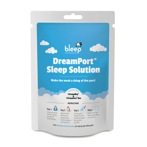 Bleep DreamPort Sleep Solution CPAP Mask