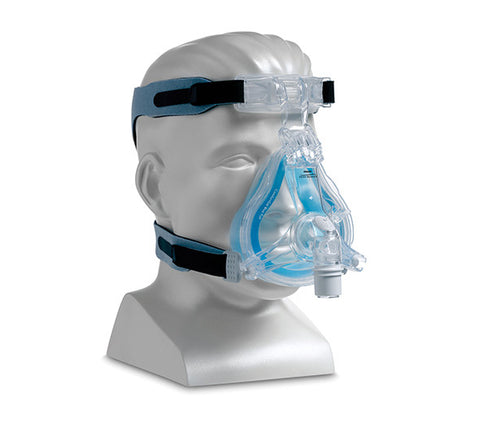 Respironics ComfortGel Blue Full Face CPAP Mask with Headgear