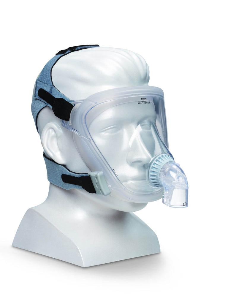 Respironics FitLife Total Full-Face CPAP Mask with Headgear