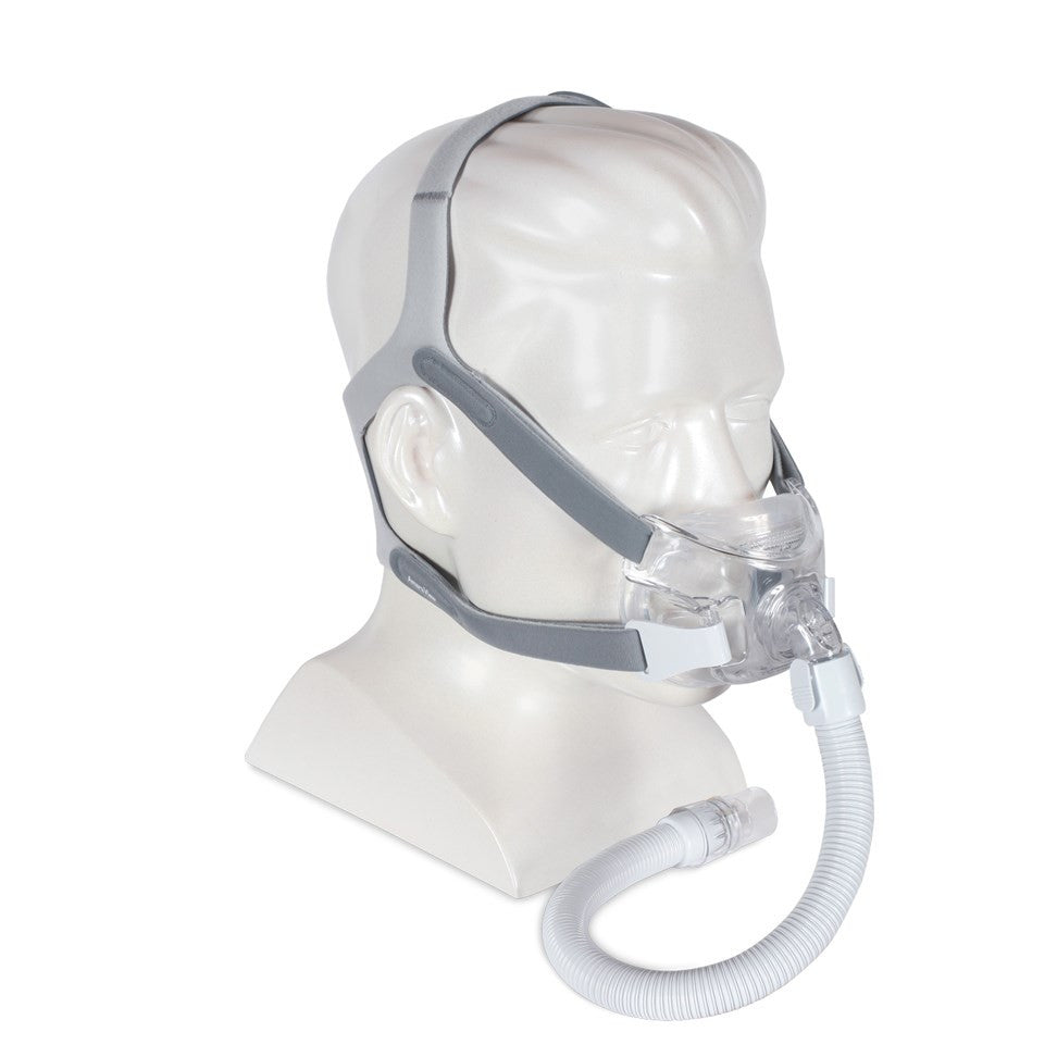 Respironics Amara View Full Face CPAP Mask and Headgear
