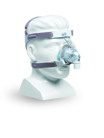 Respironics TrueBlue Nasal CPAP Mask & Headgear