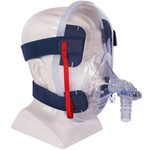Respironics Total Face CPAP Mask & Headgear
