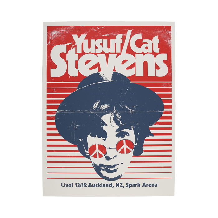 Event Poster Auckland Dec. 13-Cat Stevens