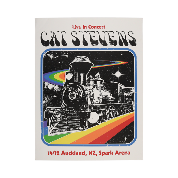 Event Poster Auckland Dec. 14-Cat Stevens