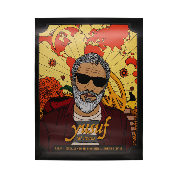 Event Poster Sydney Dec. 7-Cat Stevens