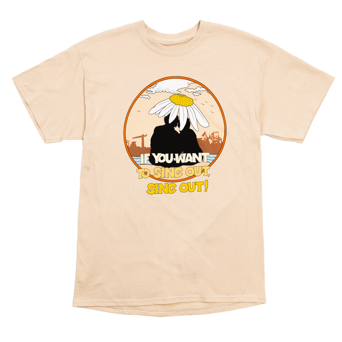 Sing Out T-Shirt-Cat Stevens