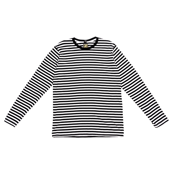 Striped Long-Sleeve Replica T-Shirt-Cat Stevens