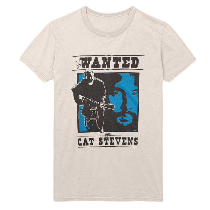 Wanted T-Shirt-Cat Stevens