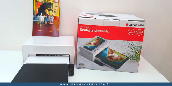Agfa Realipix Moments : L'imprimante qui sublime tes photos !