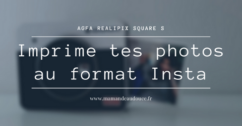 agfa photos realipix square s format carré insta