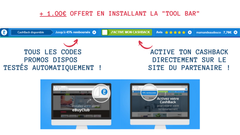 la toolbar ebuyclub