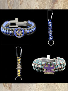 Divine 9 & Mason - Fraternity Paracord Items
