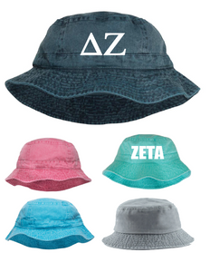 Sorority Gifts - Embroidered Bucket Hat