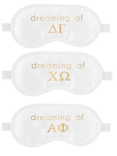 Sorority Gifts - Sleep Mask