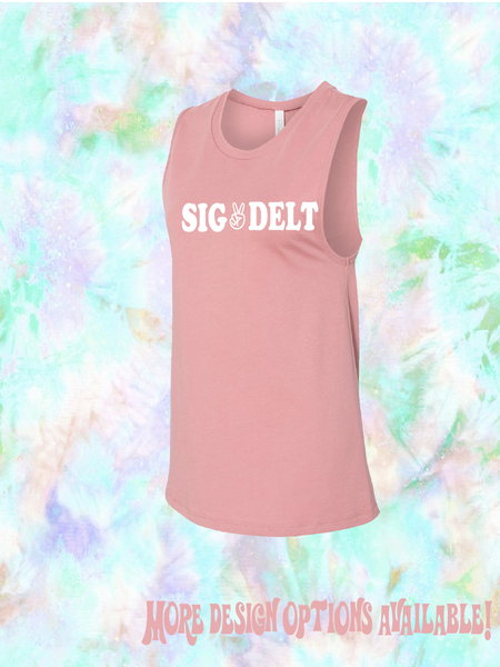 Rachel Rocker Sorority Tank