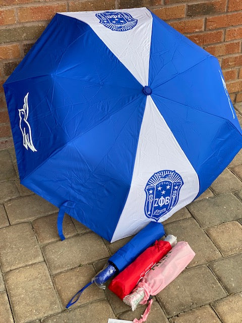 Divine 9 - Sorority Mini Umbrella