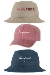 Rho Gamma - Hat Collection