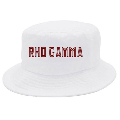 Rho Gamma Bucket Hat