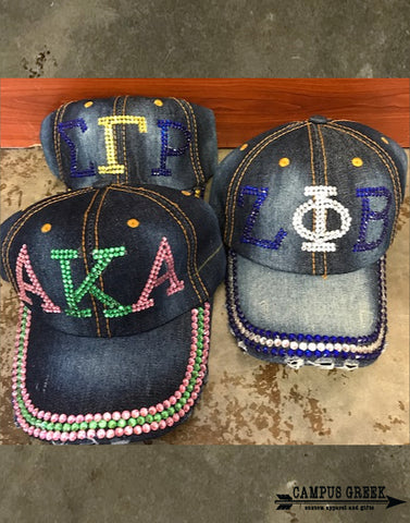 Divine 9 - Sorority Bling Hat