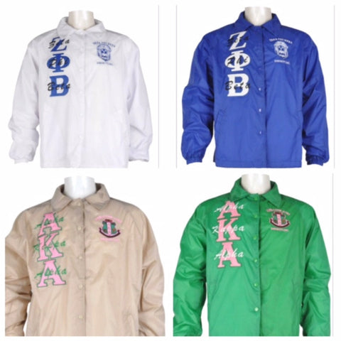 SALE Divine 9 Sorority Line Jacket