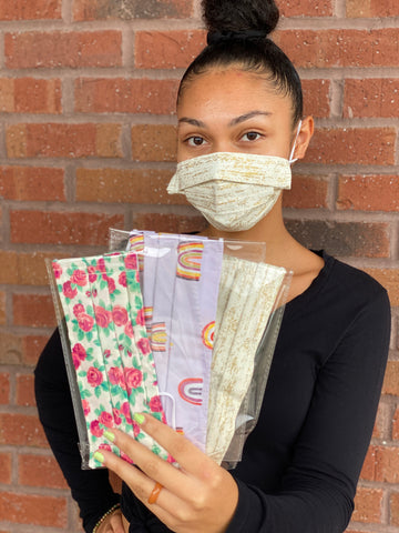 Face Mask - 3 Ply fabric masks