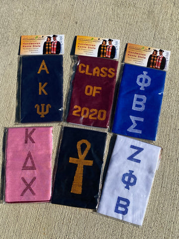Divine 9 & More - Kente Graduation Stole