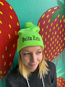 Sorority Winter Beanie - (Multiple Designs)