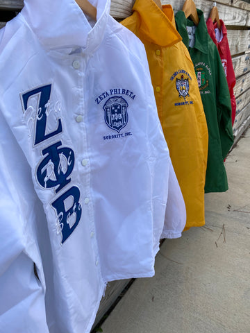 Divine 9 - Sorority & OES Line Crossing Jacket