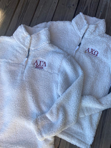 Sorority Apparel - Sherpa Pullover